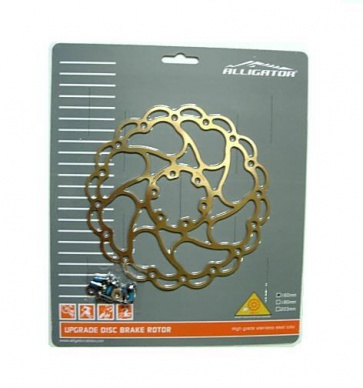 Alligator Aries_Ti Disc Brake Rotor 6 bolts 160mm