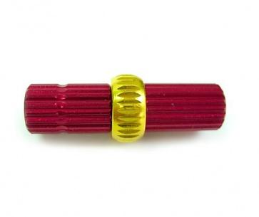Alligator derailleur cable Tension Adjuster red-gold
