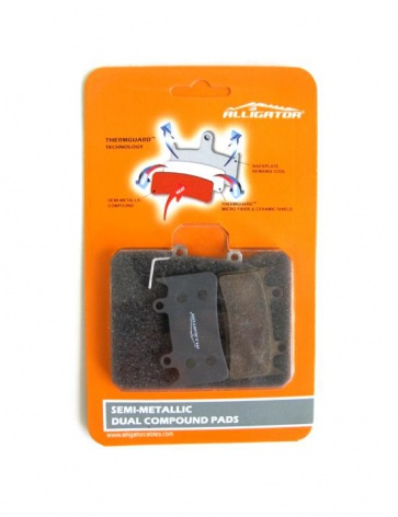 Alligator Hope Mono 6Ti Semi Metal Pads Disc Brake