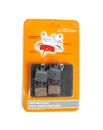 Alligator Hope Tech M4 E4 DH4 Semi metalic Disc Brake Pads