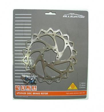Alligator iWave Bike Stainless Disc Brake Rotor 160mm