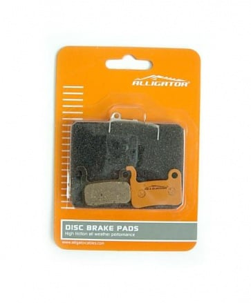 Alligator XTR, XT, LX disc brake organic pads ceramic