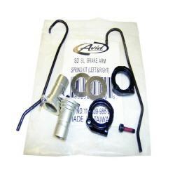 Avid Brake Arm Spring Kit Single Digit SL
