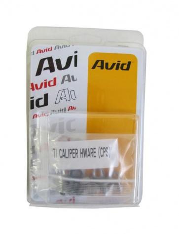 Avid Disc Brake Adapter Hardware Bolt Set TI CPS