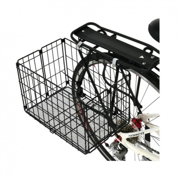 Axiom Folding Rear Basket Black