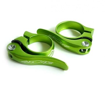 Azonic AZ qr seat clamp bicycle 2sizes green