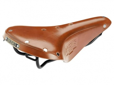 BROOKS B17 S standard bicycle cycling saddle seat honey leather