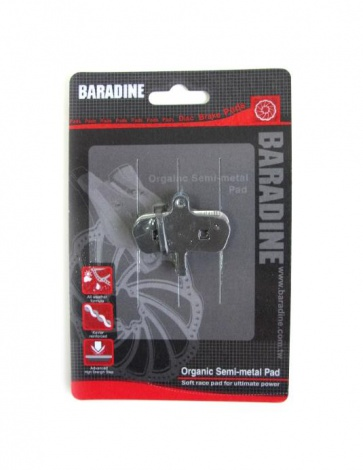 Baradine Avid Code Organic Pads Disc Brake Shoes