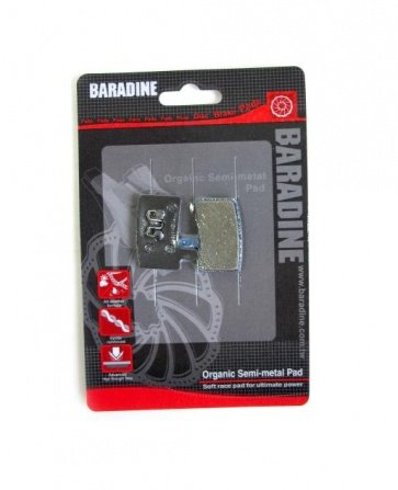 Baradine Hayes Stroker Ride Organic Disc Brake Pads Shoes