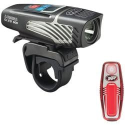 NiteRider Lumina 600 OLED and Sabre 35 Light Set