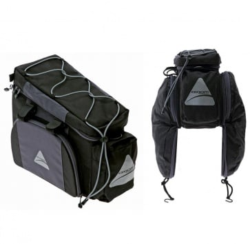 AXIOM CORTEZ DLX TRUNK BAG BLACK/GREY