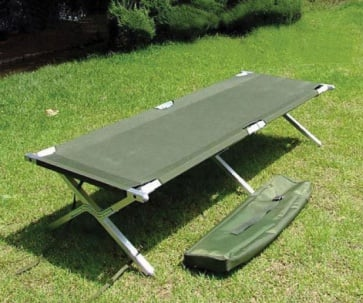 BicycleHero Military Camping Bed Max Weight 150KG 330LBS