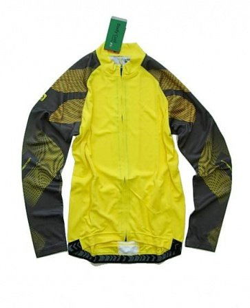 Bike-on JB-511 doby windstop jacket cycling yellow