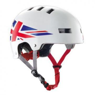 Bluegrass Super Bold Urban Dirt Jump Helmet White Red
