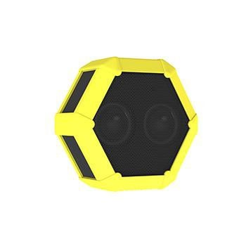 Boombotix Tuffskin For Rex Neon Yellow