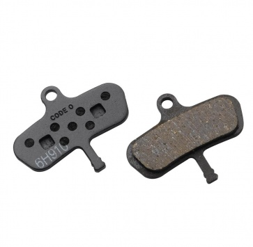 AVID CODE ORGANIC DISC PADS STEEL BACKED '07-'10