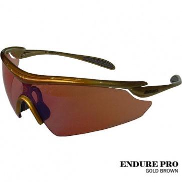 Briko Endure Pro Cycling Goggles Sunglasses 23g Gold Brown