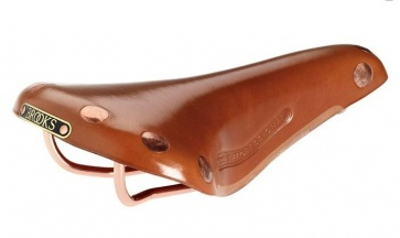 BROOKS team pro copper bicycle saddle seat leather honey