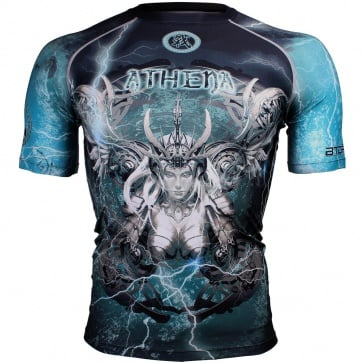 Btoperform Athena Full Graphic Compression Short Sleeves Shirts FX-304