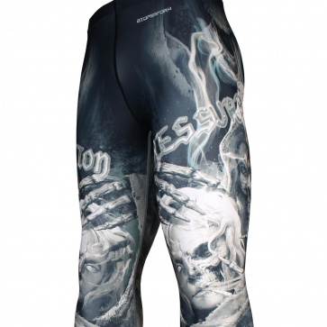 Btoperform Resurrection FY-109 Compression Leggings Bottom MMA Tights Yoga