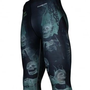 INCARCERATION [FY-115] Full graphic compression leggings