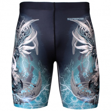 Btoperform Athena Full Graphic Compression Shorts FY-304