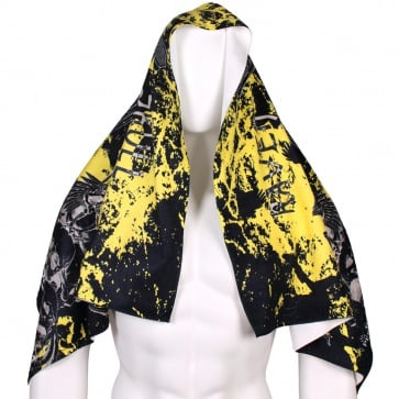 Btoperform Raven Skull ST-125 Super Absorbent Microfiber Sports Towel