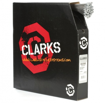 CLARKS BRAKE CABLE SS ROAD 1.5x2000mm BOX/100