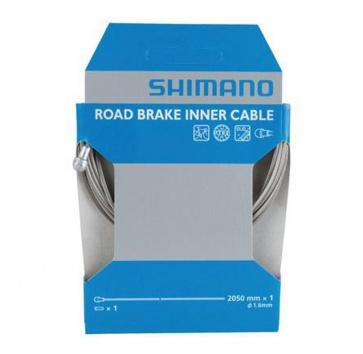 SHIMANO BRAKE CABLE PTFE ROAD 1.6x2050mm EACH