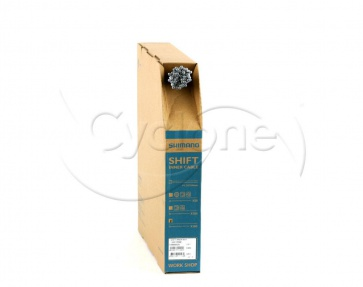 SHIMANO SHIFT CABLE ZINC 1.2X2100mm BOX/100