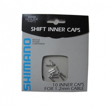 SHIMANO DERAILLEUR CABLE END CAP 1.2mm 10 PACK