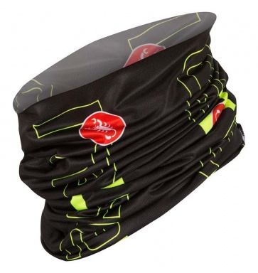 Castelli Lightweight Head Thingy Black-Yellow