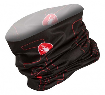 Castelli Lightweight Head Thingy Black-Red