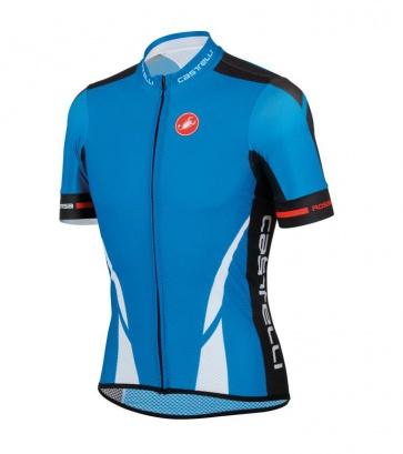Castelli Climber's Jersey FZ Blue White