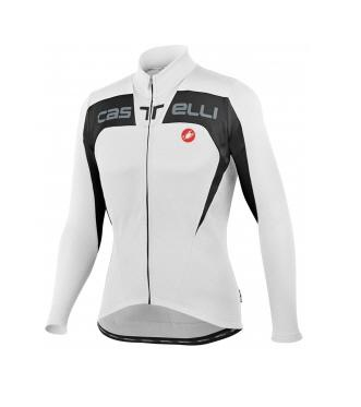 Castelli Contatto Jersey FZ cycling bicycle white