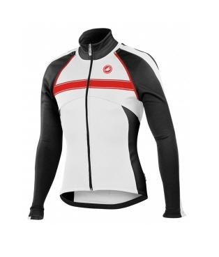 Castelli Pazzo Jacket Winter bicycle cycling White black