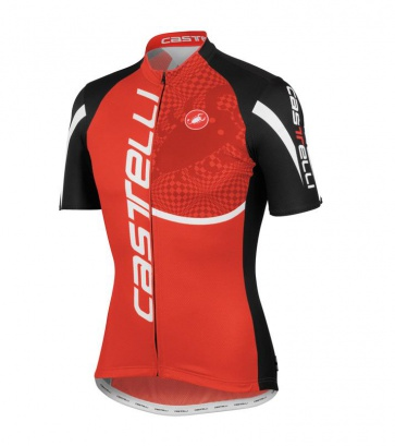 Castelli Punto Tre Jersey Red