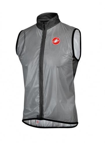 Castelli Sottile Waterproof Wind Vest Gray