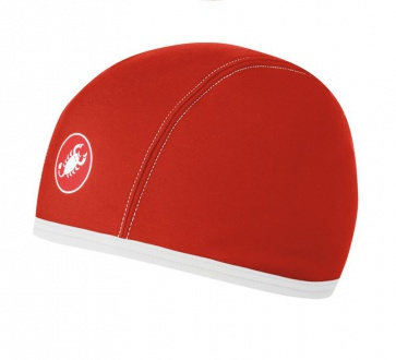 Castelli Thermo Inner Cap red