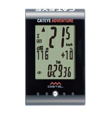 Cateye CC-AT200W Adventure Wireless Cycling Computer Level Altitude