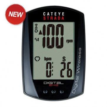 Cateye CC-RD410DW Digital 2.4G Cycling Computer Wireless