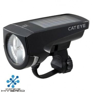Cateye HL-EL030 Solar USB Reachargeable Torch Light