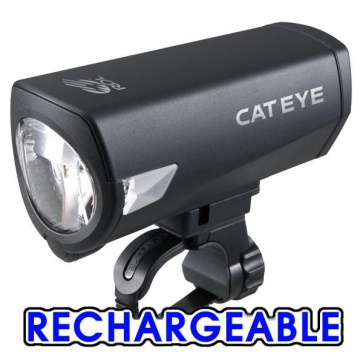 Cateye HL-EL540RC Econom Force Rechargeable Torch Light