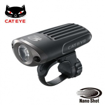 Cateye HL-EL620RC USB rechargable Front Light Torch Nano Shot