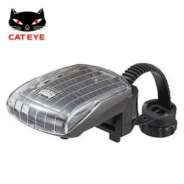 Cateye SL-LD210-F solar front torch led light rechargable