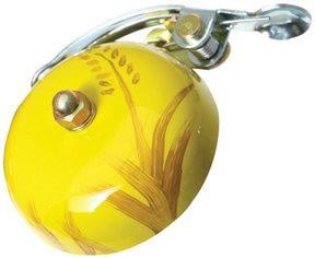 Crane Painted Suzu Bell autumn Yellow