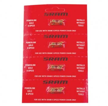 SRAM POWERLINK II 9-SPEED GOLD x4