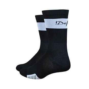 "DEFEET CYCLISMO 5"" TRICO BLACK/WHITE SOCK"
