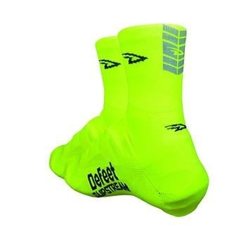 Defeet Slipstream 4inch D-Logo YELLOWREFLECTIVE Shoes Covers LG-XL