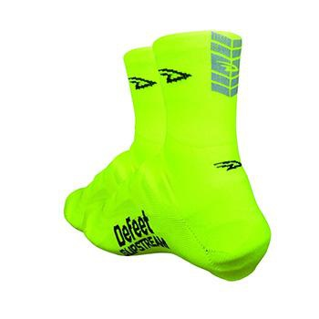 Defeet Slipstream 4inch D-Logo YELLOWREFLECTIVE Shoes Covers SM-MD